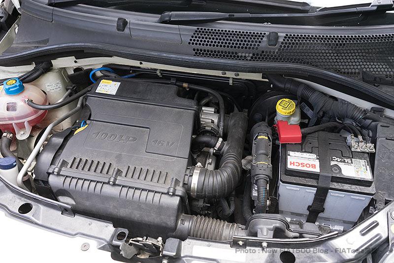 FIAT500のオイル交換で笑顔に。エンジンレスポンスの違いに感動!