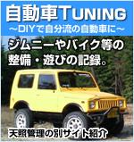 自動車TUNING~DIYで自分流の自動車に~